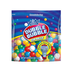 Dubble Bubble Machine Gumballs Assorted