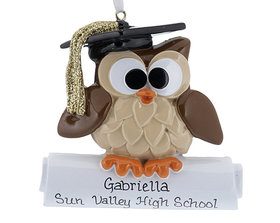 Owl Graduate Ornament