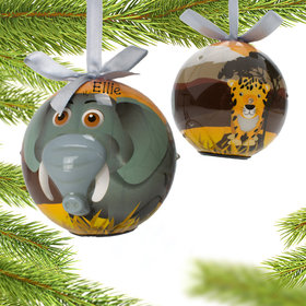 Blinking Nose Elephant Ornament