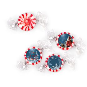 Personalized Christmas Starry Night Santa Starlight Mints (405 Pack)