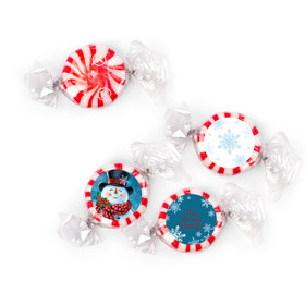 Personalized Christmas Jolly Snowman Starlight Mints (405 Pack)