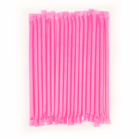 Light Pink Strawberry Candy Straws