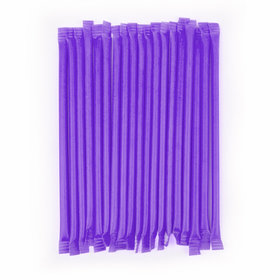 Purple Grape Candy Straws