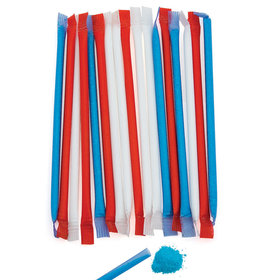 Patriotic Candy Straws