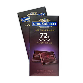 Ghirardelli Intense Dark Chocolate 72% Bars