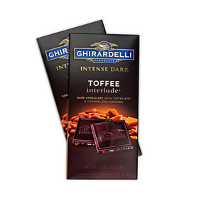 Ghiradelli Intense Dark Toffee Interlude Chocolate Bars