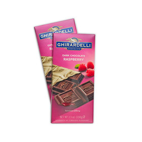 Ghiradelli Dark Raspberry Chocolate Bars