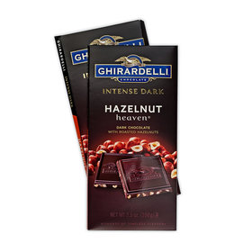 Ghiradelli Intense Dark Hazelnut Heaven Chocolate Bars