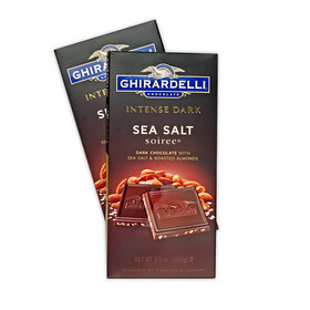 Ghiradelli Intense Dark Sea Salt Soiree Chocolate Bars