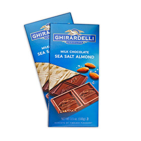 Ghiradelli Milk Sea Salt Almond Chocolate Bars