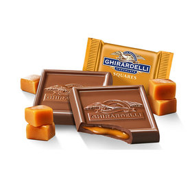 Ghiradelli Milk Chocolate Caramel Squares (50 Pack)