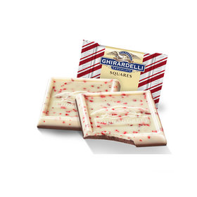 Ghirardelli Peppermint Bark Squares (50 Pack)