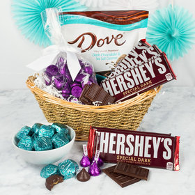 Small Dark Chocolate Gift Basket