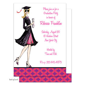 Bonnie Marcus Collection Personalized Gorgeous Grad - Blonde Invitation