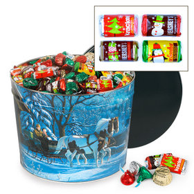 Through the Woods 14lb Hershey's Holiday Mix Tin