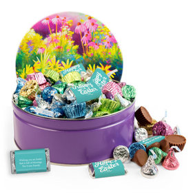 Personalized Colors of Spring Candy 2lb Tin