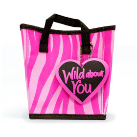 Wild About You Valentine Empty Bag