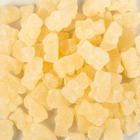Gourmet Sugar Sanded Light Champagne Gummi Bears