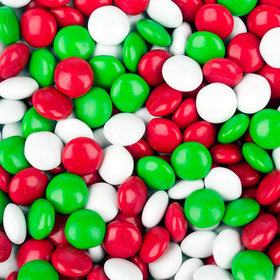Just Candy Milk Chocolate Minis Red, Green & White Christmas Mix