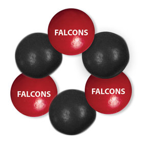 Just Candy Milk Chocolate Minis Falcons Mix