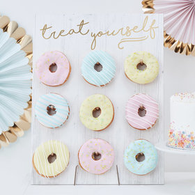 Donut Wall - Treat Yourself Gold