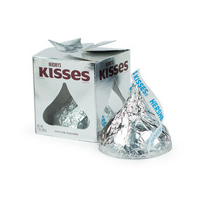Hershey's Giant Silver Kiss 7oz