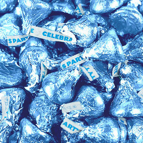 Light Blue Hershey's Celebration Party Kisses