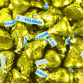 Yellow Hershey's Kisses Party Mix