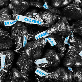 Black Hershey's Celebration Party Kisses