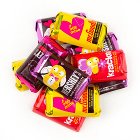 Valentine's Day Hershey's Miniatures Assortment - 11oz Bag