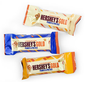 Hershey's Holiday GOLD Miniatures