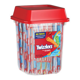Twizzlers Rainbow Twists 27.5 oz. Canister