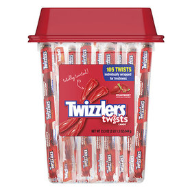 Twizzlers Strawberry Twists 33.3 oz. Canister