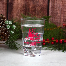 Personalized Christmas 12oz Plastic Cup