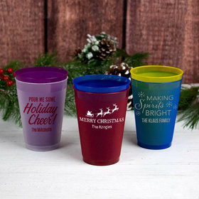Personalized Christmas 12oz Shatterproof Cup