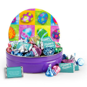 Personalized Colors of Spring 1 lb Hershey's Easter Mix Tin