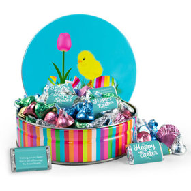Personalized Easter Chick 1 lb Hershey's Easter Mix Tin