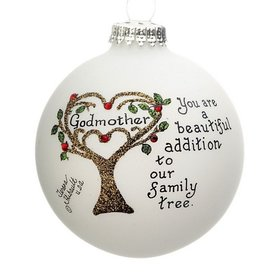 Godmother Family Tree Ornament