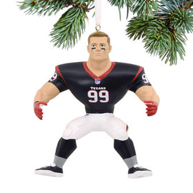 NFL Houston Texans JJ Watt Ornament