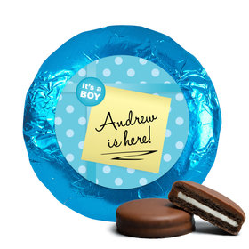 Baby Boy Announcement Chocolate Covered Oreos It's a Boy! Polaroid (24 Pack)