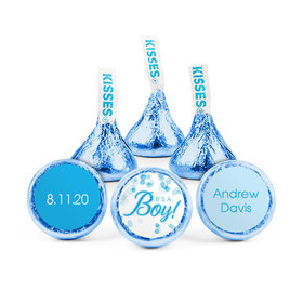 Personalized Boy Birth Announcement It's a Boy Hershey's Kisses (50 pack)