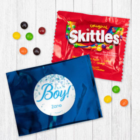Personalized Boy Birth Announcement It's A Boy Bubbles Skittles