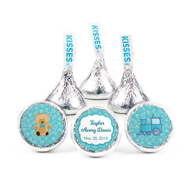 Personalized Birth Announcement It's A Boy Bundle of Joy Hershey's Kisses (50 Pack)
