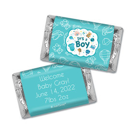 Personalized Juliana Da Costa Birth Announcement It's a Boy Bundle of Joy Mini Wrappers Only