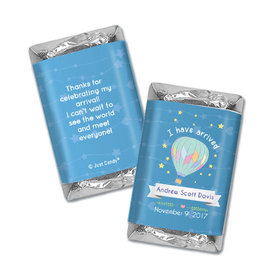 Personalized Juliana Da Costa Birth Announcement It's a Boy I have Arrived Hershey's Miniatures