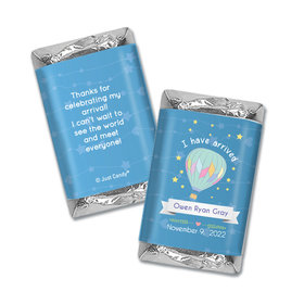 Personalized Juliana Da Costa Birth Announcement It's a Boy I have Arrived Mini Wrappers Only