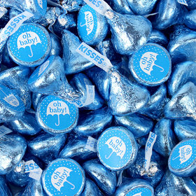 Blue Baby Shower Hershey's Kisses Candy - Oh Baby!