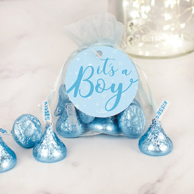 It's a Boy Hershey's Kisses Organza Bag