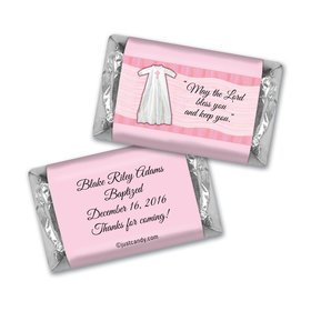 Baptism Personalized Hershey's Miniatures Wrapped in Faith