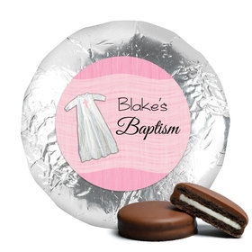 Baptism Chocolate Covered Oreos Wrapped in Faith